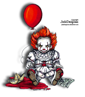 Baby Pennywise - Colored by JadeDragonne