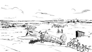 RAF Airfield (sketch) by Fisher22