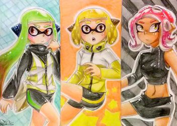 The Three Agents by Aliplayer005