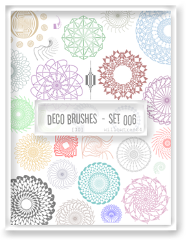 decorative brushes - set 006 by willowtree84