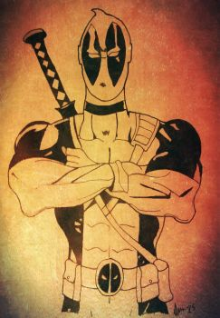 Deadpool  by Maghero