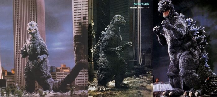 Godzilla Designs: 1984 by DaiKaiju4Ever