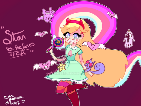 Star Butterfly - From Star vs. The Forces of Evil by SterkiHerz