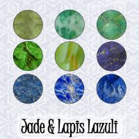 Jade and Lapis Patterns by slavetofashion69