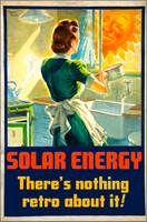 Solar Energy.  There's Nothing Retro About It! by poasterchild