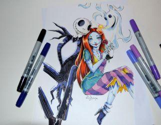 Jack and Sally by Lighane