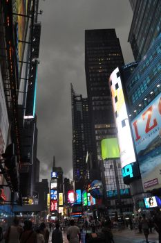 Stormy Times Square by Grim-147