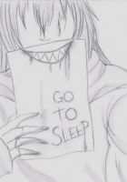 Go to Sleep by Adam-and-Jessica
