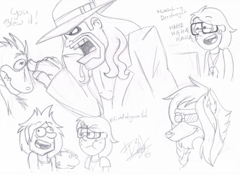 .:[DOODLES] SOME RANDOM STUFF:. by Maniactheleader