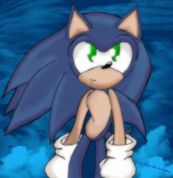 Just Sonic by AngieTheHedgehog