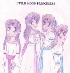 LITTLE MOON PRINCESESS by Bella-Who-1