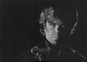 Tyrion Lannister (Peter Dinklage) by Ilojleen