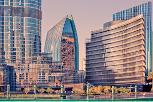 City of glass and steel by hessbeck-fotografix