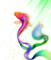 engel-fish-alone by Dr-Stain