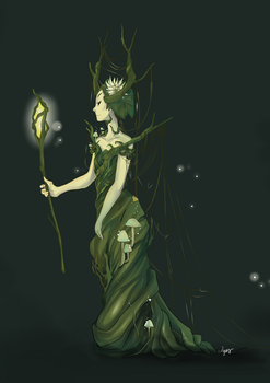 Swamp Queen by ClaraAzuos