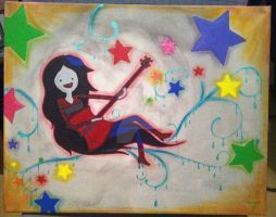 Marceline Painting by CemeteryDrive87