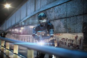 dead space 2 cosplay 5 by easycheuvreuille
