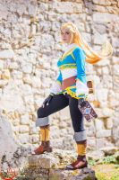Zelda-Breath of the wild by Ven-Arts