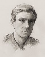Martin Freeman by TendaLee