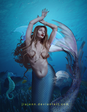 Mermaid 8 by jiajenn