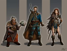 Character Design Fantasy by Panaiotis