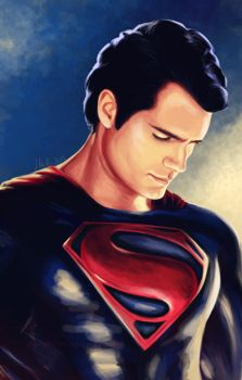 Man of Steel - Henry Cavill by TomsGG