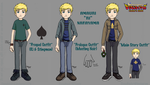 DT: Amauri Outfits by CinnaMonroe