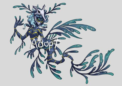 [adoptable] Sea dragon queen by nutJT