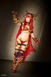 Alexstrasza Cosplay World of Warcraft by TineMarieRiis