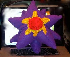 Starmie Plush Commission by Hippojello