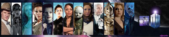 banner Doctor Who series 6 by nancywho