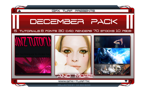 GT's December Resource Pack by Gfx-Turf