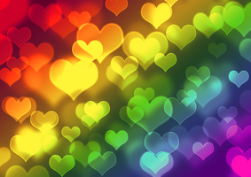 Colorfull Hearts by Kellyta20