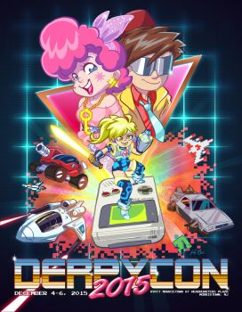 DerpyCon 2015 Program Book Cover by kevinbolk