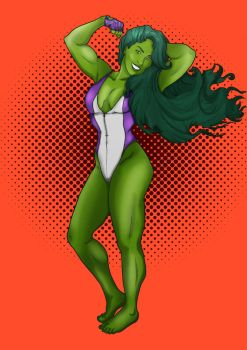 She-Hulk by Carrotita