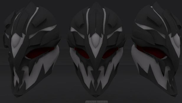 Grimm Mask Untextured by Andy0205