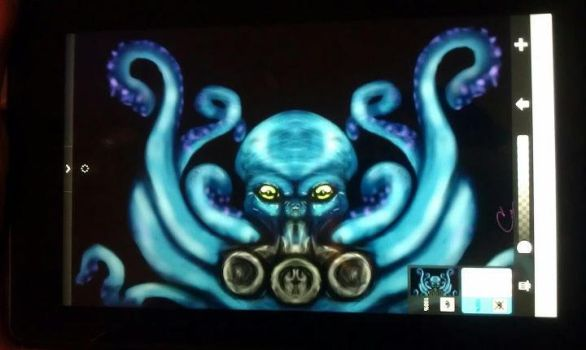Octopus on Kindlefire by Indigo-Maverick