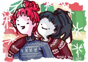 Christmas for Bubbline by Dreamsoffools