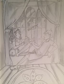 Ron and Hermione - Year 2005 by DidxSomeonexSayxMad