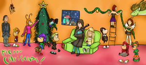 Merry Christmas! :D by Rayxim