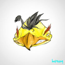 Angry Birds - YELLOW by Minhky