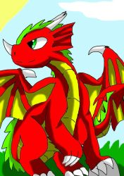the Welsh Dragon by rokaigale