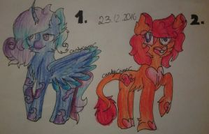 #7 Adoptables -RandomPonies[OPEN 2/2] by AdaKola