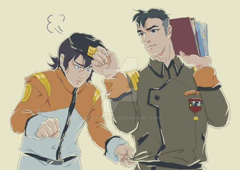 [Sheith] Back to their school life by oootsuhian