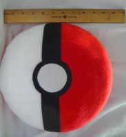 Pokeball Pillow Commission by P-isfor-Plushes
