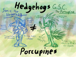GSC - Hedgehogs n' Porcupines by TopazMutiny