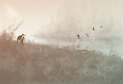 Early birds. by PascalCampion