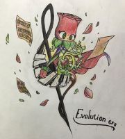PvZ heroes and Deemo crossover - Evolution era  by shadowgirl211