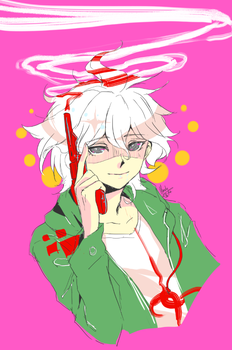 SDR2 + Komaeda by BakaMandy