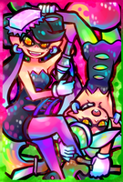 Squid Sisters by kafuka5364